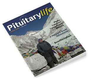 Pituitary Life Summer 2012 Issue 21 Front