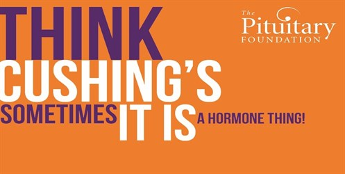 Think Cushing's: sometimes it's a hormone thing. The Pituitary Foundation